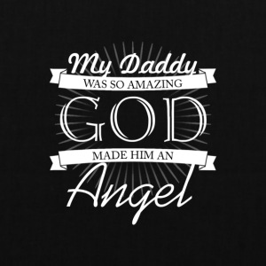 My father is as good angels - Tote Bag