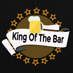 King of the Bar - Stoffbeutel