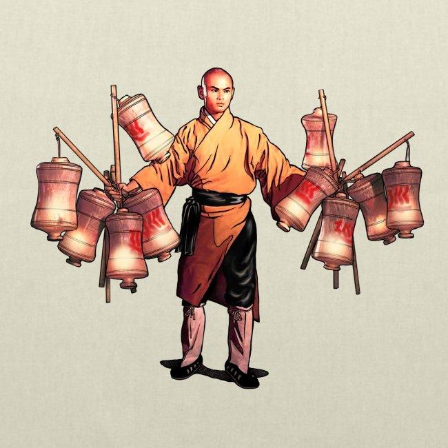 Shaolin Warrior Monk