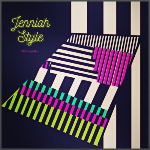 Stairs - stripe - Stoffbeutel