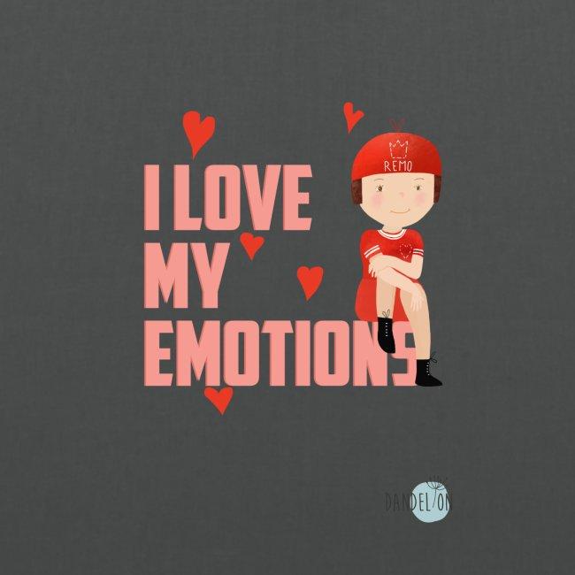 i love my emotions girl