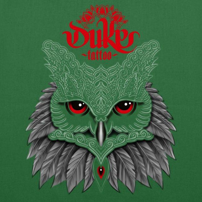Mehndi Owl by Gideon