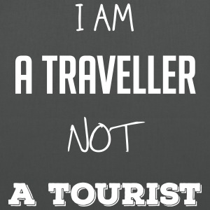 I am a traveler not a tourist - Tote Bag
