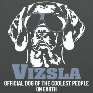 VIZSLA - official dog of the coolest people - Stoffbeutel