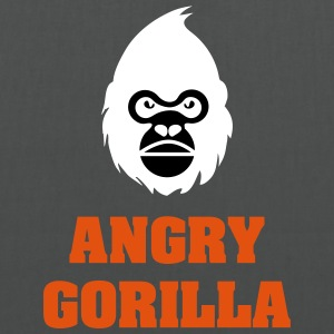 angry_gorilla_white - Tote Bag