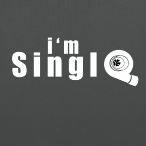 im single - Stoffveske