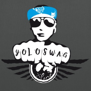 swag yolo fist cool ganster rapping street tatoo gra - Tote Bag