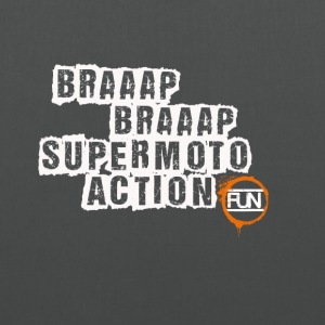 Supermoto Action - Stoffbeutel