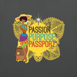 Passion, Purpose,Passport - Tote Bag