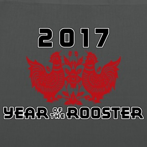 2017 Year Of The Rooster - Stoffveske