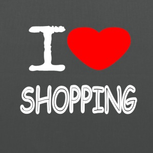 I LOVE SHOPPING - Tote Bag