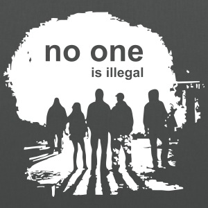 no one is illegal - Tote Bag