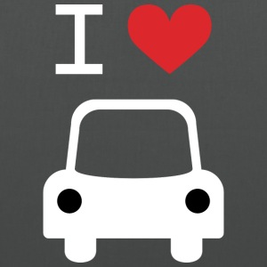 I love Car - Stoffbeutel