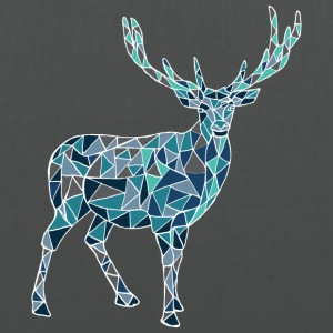 Blue deer - Tote Bag