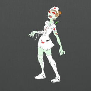 Collection Zombie: Zombie Nurse. - Tote Bag