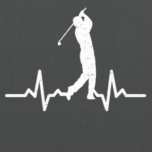 My heart beats for Golf - Tote Bag