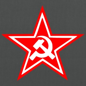 Communist red star flag - Tote Bag