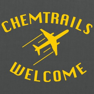 Chemtrails Welcome - Stoffbeutel