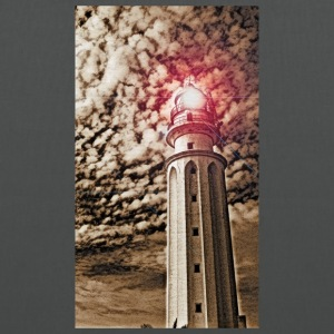 LIGHTHOUSE TRAFALGAR_SEPIA - Tote Bag