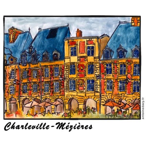 Pavillons de la Place Ducale - Sac en tissu