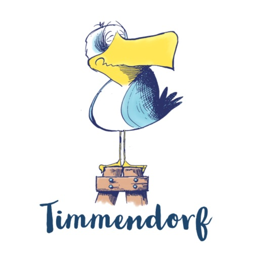 Lustige Moewe Timmendorf - Stoffbeutel