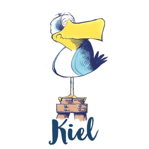 Freche Kiel Möwe - Stoffbeutel