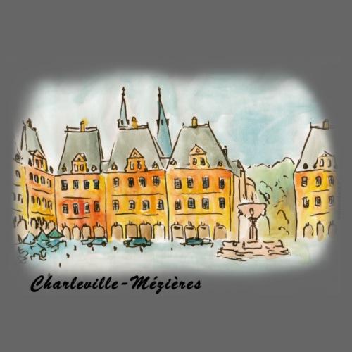 Place Ducale de Charleville - Sac en tissu