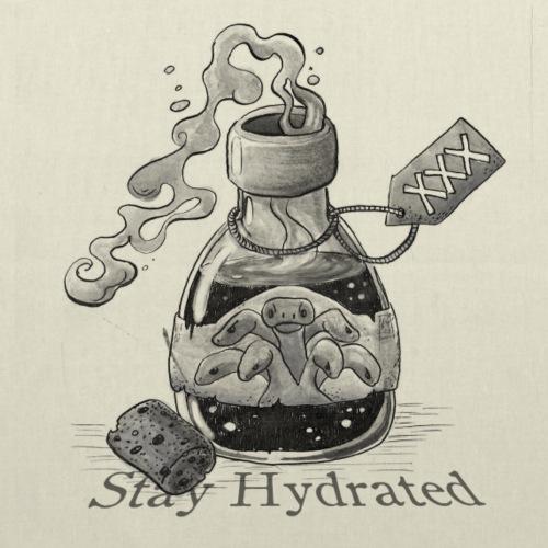 Stay HYDRAted - Borsa di stoffa