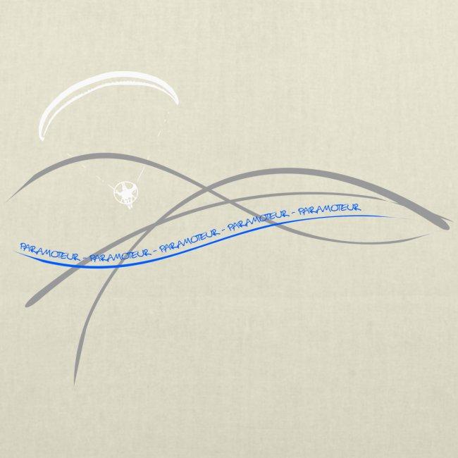 Libert'All paramoteur 3 Brins bleu