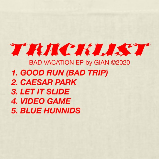 """TRACKLIST"""