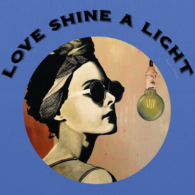 Love Shine a Light - Chrystelle Gouy