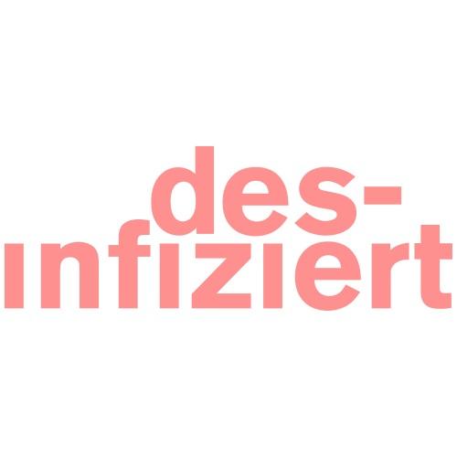 desinfiziert 1 - Stoffbeutel
