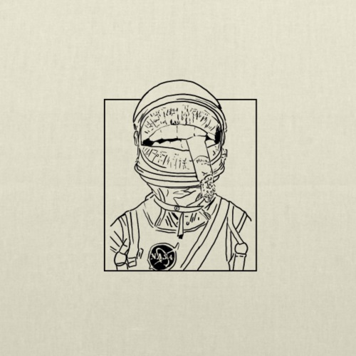 ASTRONAUTA - Bolsa de tela