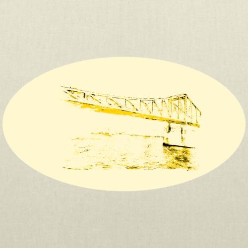 Eiserner Steg Gelb - Stoffbeutel