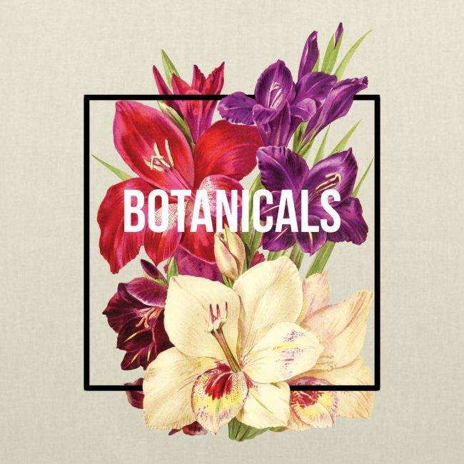 Composizione collage floreale