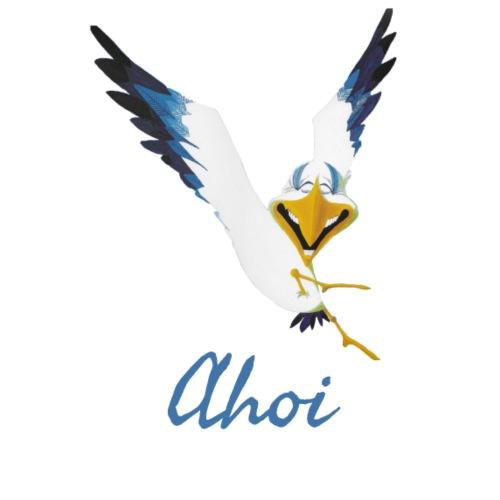 Lachmöwe Ahoi - Stoffbeutel