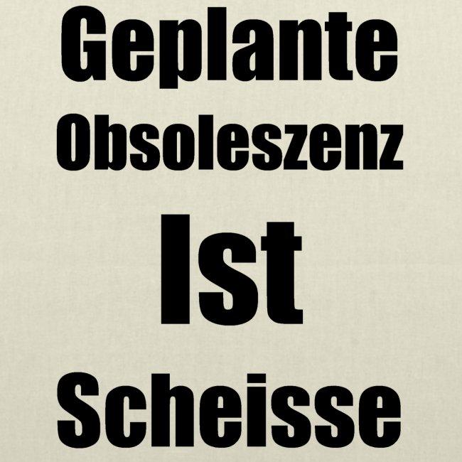 Obsoleszenz Schwarz Weiss
