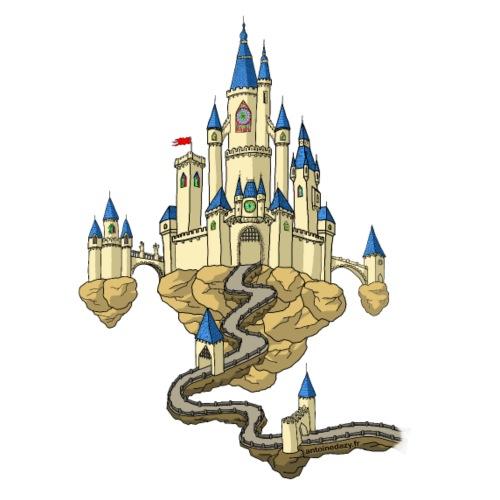 Château dans le ciel - Sac en tissu