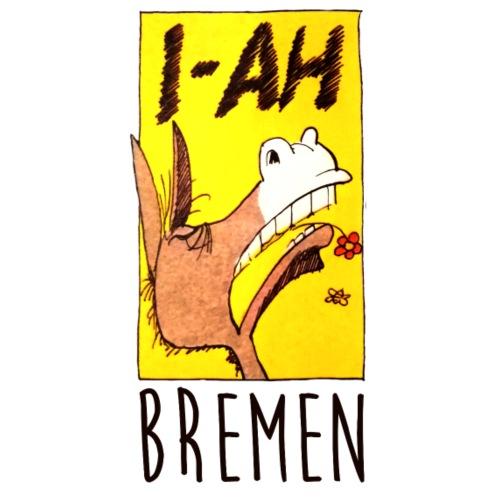 Bremer Stadtmusikanten Esel I-Aah - Stoffbeutel