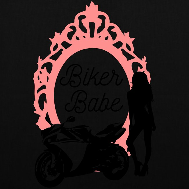 Biker Babe – Racing bike
