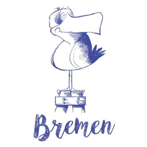 Bremer Möwe - Stoffbeutel