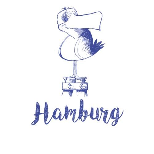 Hamburg Möwe - Stoffbeutel