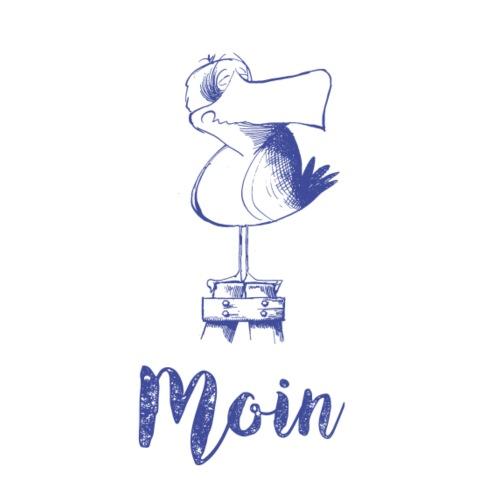 Moin Möwe - Stoffbeutel
