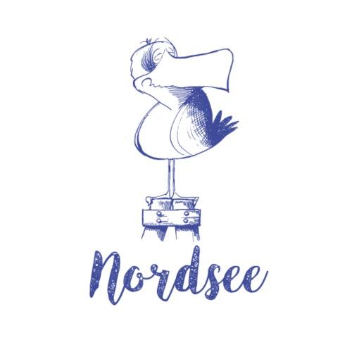 Nordsee Moewe - Stoffbeutel