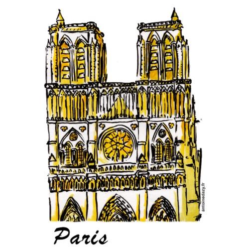 Notre Dame de Paris - Sac en tissu