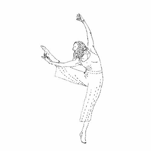 Dance On - Stoffbeutel