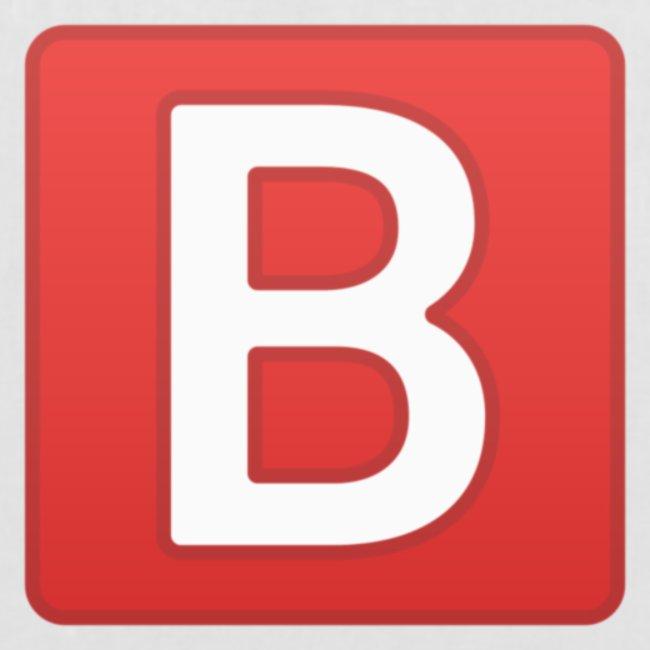 b emoji meme