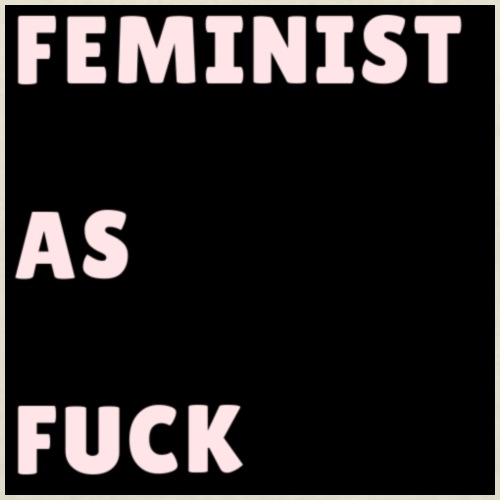 FEMINIST AS FUCK - Tote Bag