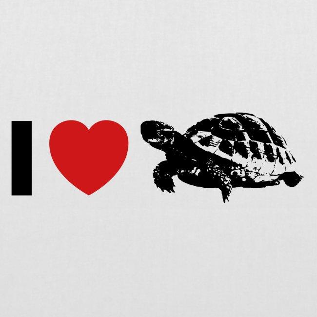 I ❤️ Schildkröte