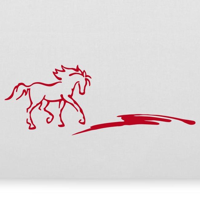 Pferd und Strich